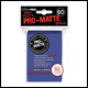 Ultra Pro - Small Pro Matte Card Sleeves 60pk - Blue (10 Count CDU)