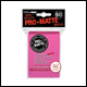 Ultra Pro - Small Pro Matte Card Sleeves 60pk - Bright Pink (10 Count CDU)