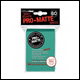 Ultra Pro - Small Pro Matte Card Sleeves 60pk - Aqua (10 Count CDU)