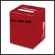Ultra Pro - Deck Box  pro 100+ - Red