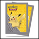 ULTRA PRO - STANDARD CARD SLEEVES 65PK - POKEMON PIKACHU GREY DESIGN - 84557