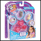 KITTY IN MY POCKET - 3 CHARM KITTIES WITH JEWELLERY ASSORTMENT (6 COUNT)