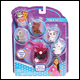 KITTY IN MY POCKET - CLIP ON POCKET POUCH ASSORTMENT (6 COUNT)