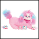 PUPPY SURPRISE - LACEY PINK SPARKLE PLUSH - WAVE 6