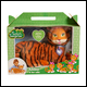 SAFARI SURPRISE - AMBER TIGER PLUSH - WAVE 1