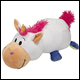 FLIP A ZOO - UNICORN/DRAGON PLUSH