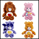 CARE BEARS - MEDIUM PLUSH WITH DVD ASSORTMENT WAVE 5 (6 COUNT)