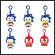 Sonic Boom – Vinyl Keychain Assortment (6 Count)
