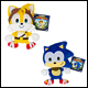 SONIC - 8 INCH BASIC PLUSH ASSORTMENT (6 COUNT) - T22505A6