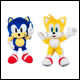 CLASSIC SONIC - 8 INCH PLUSH ASSORTMENT (6 COUNT) - T22530A