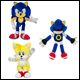 CLASSIC SONIC - 8 INCH PLUSH ASSORTMENT (6 COUNT) - T22530A1