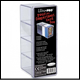 ULTRA PRO - 4 COMPARTMENT CARD STORAGE BOX CLEAR - 81163