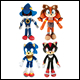 SONIC BOOM - 8 INCH BASIC PLUSH ASSORTMENT (6 COUNT) - T22505A5