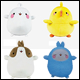 MOLANG - BASIC PLUSH ASSORTMENT (4 COUNT CDU)