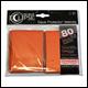 Ultra Pro - Eclipse Standard Pro Matte (80 Pack) - Orange