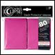 Ultra Pro - Eclipse Standard Pro Matte (80 Pack) - Pink
