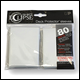 Ultra Pro - Eclipse Standard Pro Matte (80 Pack) - White