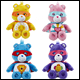 CARE BEARS - FASHION BEANS SUPERHEROES ASSORTMENT (6 COUNT)