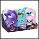 HANAZUKI - BASIC PLUSH ASSORTMENT (6 COUNT) - B8051