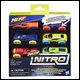 NERF NITRO - REFILL 6 PACK ASSORTMENT (8 COUNT) - C3171