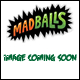 MADBALLS - FOAM BALLS ASSORTMENT (6 COUNT)