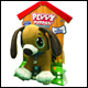 PEPPY PUPPIES JUNIOR - BROWN DOG