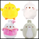 MOLANG - BASIC PLUSH WAVE 3 ASSORTMENT (4 COUNT CDU)