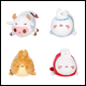 MOLANG - COLLECTIBLE PLUSH WAVE 3 (16 COUNT CDU)