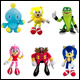 Classic Sonic - 8 Inch Plush Assortment (6 Count)