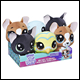 LITTLEST PET SHOP - BOBBLE HEAD PLUSH ASSORTMENT (6 COUNT)