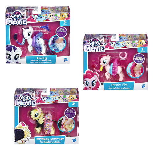 MY LITTLE PONY - MAGIC EXPRESSION ASSORTMENT (4 COUNT) - E0186EU41