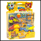 SUPERZINGS - RIVALS OF KABOOM SERIES 1 BLISTER MISSION 1 (6 COUNT)