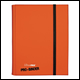 ULTRA PRO - 9 POCKET PRO BINDER - ORANGE - 84566