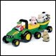 JOHN DEERE - ANIMAL SOUNDS HAYRIDE (4 COUNT) - 34908C