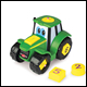 JOHN DEERE - JOHNNY TRACTOR LEARN & POP (4 COUNT) - 46654