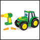 JOHN DEERE - BUILD A JOHNNY TRACTOR (4 COUNT) - 46655