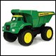 JOHN DEERE - SANDBOX TOYS - BIG SCOOP DUMP TRUCK (2 COUNT) - 42928V