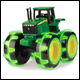 JOHN DEERE - MONSTER TREADS LIGHTNING WHEELS (2 COUNT) - 46434B