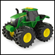 JOHN DEERE - LIGHTS AND SOUNDS TRACTOR (4 COUNT)