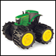 JOHN DEERE - MONSTER TREADS - MEGA MONSTER WHEELS (2 COUNT)