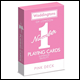 WADDINGTONS NUMBER 1 PLAYING CARDS PACK - PINK