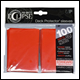 Ultra Pro - Eclipse Standard Pro Matte (100 Pack) - Apple Red