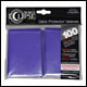 Ultra Pro - Eclipse Standard Pro Matte (100 Pack) - Royal Purple