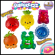 Bubbleezz Jumbo Assorted (Large) - 12 Count