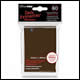 Ultra Pro – Small Card Sleeves 60pk -  Brown (10 Count CDU)