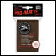 Ultra Pro - Small Pro Matte Card Sleeves 60pk -  Brown (10 Count CDU)