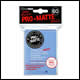 Ultra Pro - Small Pro Matte Card Sleeves 60pk - Non Glare - Clear (10 Count CDU)