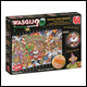 Wasgij Christmas - 14 Santas Little Helpers Jigsaw Puzzle