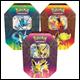 Pokemon - Elemental Power Tin Display (6 Count)