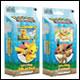 Pokemon - Lets Play, Pikachu/Eevee Theme Deck Display (8 Count)